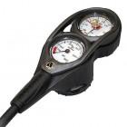 Apeks Pressure & Depth Gauge With Compass