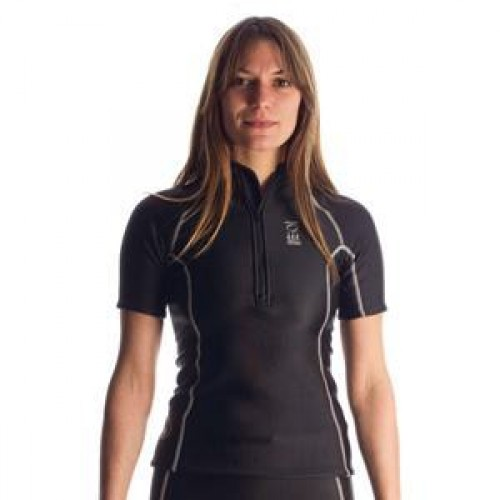 Fourth Element Thermocline Womens Zipped S/S Top