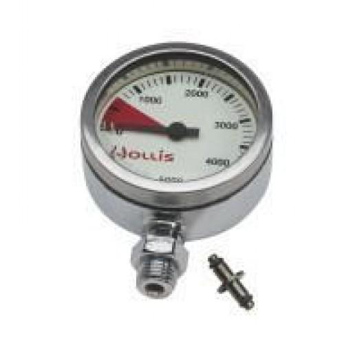 Hollis Pressure Gauge Module BAR - Metal w/o boot