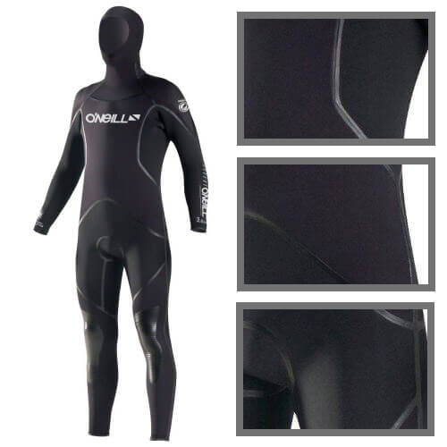O'Neill J-Type 7mm FSW Wetsuit With Hood
