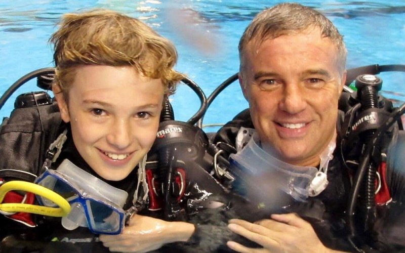 Learning to Dive is a great family activity